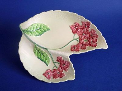 Lovely Carlton Ware Pink 'Hydrangea' Double Dish (Sold)